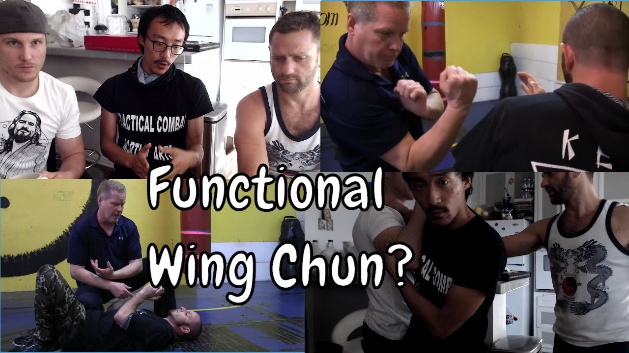 Making Wing Chun Functional - Combining Football And Wing Chun?