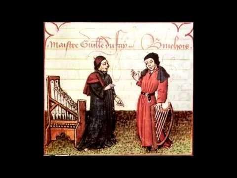 Medieval Music - Guillaume Dufay - Belle, que vous ay je mesfait