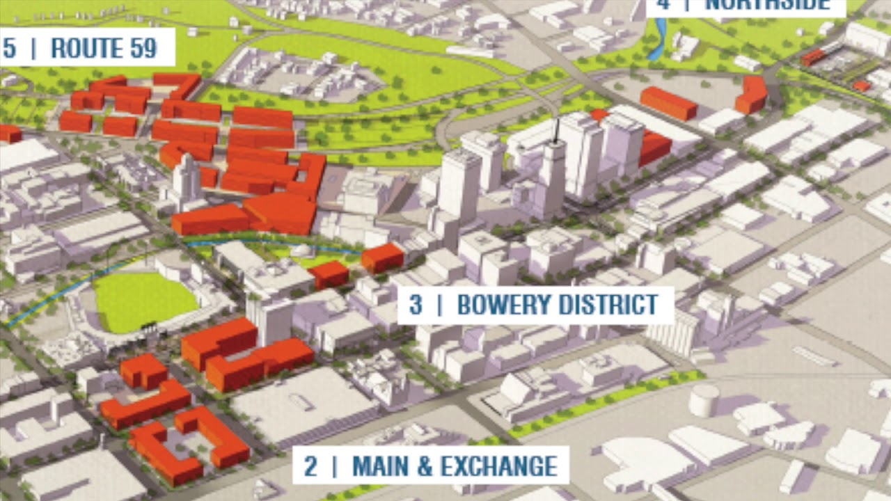 Downtown Akron Vision Redevelopment YouTube