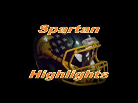 Spartan Highlights - St. Mark's at Delaware Military Academy Varsity Football 10/21/2017