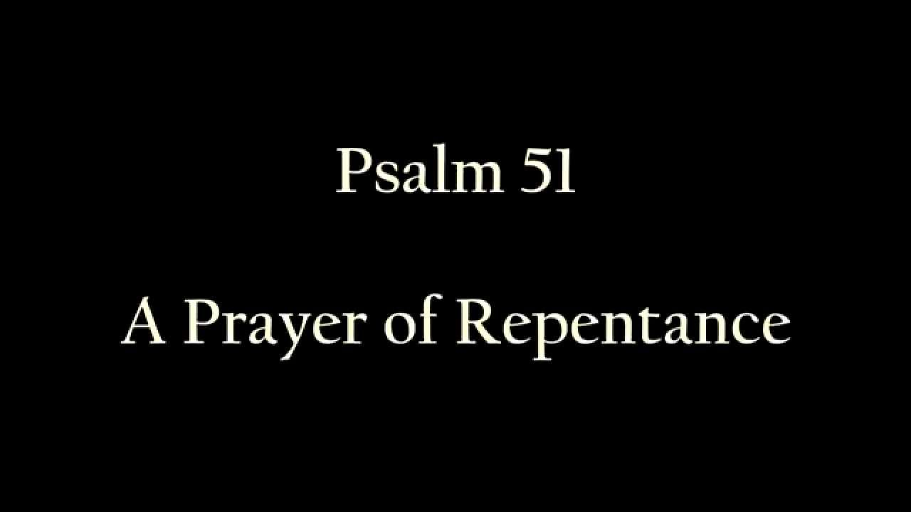 Psalms 51 | NKJV Reading - YouTube