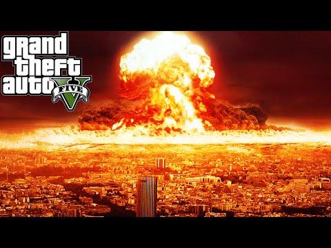 "GTA 5 Mods ""NUKE LAUNCHER MOD"" (GTA 5 Nuke Mod Vs City, GTA 5 Funny Moments Compilation)"