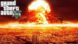 "GTA 5 Mods ""NUKE LAUNCHER MOD"" (GTA 5 Nuke Mod Vs City, GTA 5 Funny Moments Compilation)"
