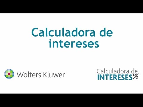 Calculadora de Intereses | Wolters Kluwer