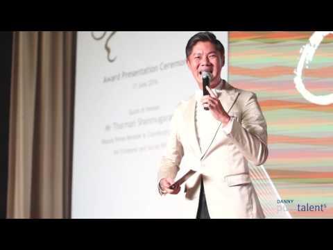Danny Yeo Pure Talents - 杨君伟 bilingual host emcee showreel Teochew Entrepreneur Award 2016