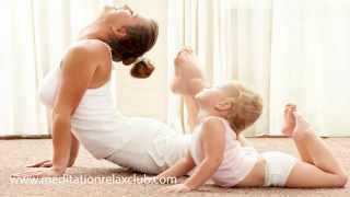 1 Hour Yoga Music: Yoga for Kids & Children, Meditation Music, Calming Soft Instrumental Music