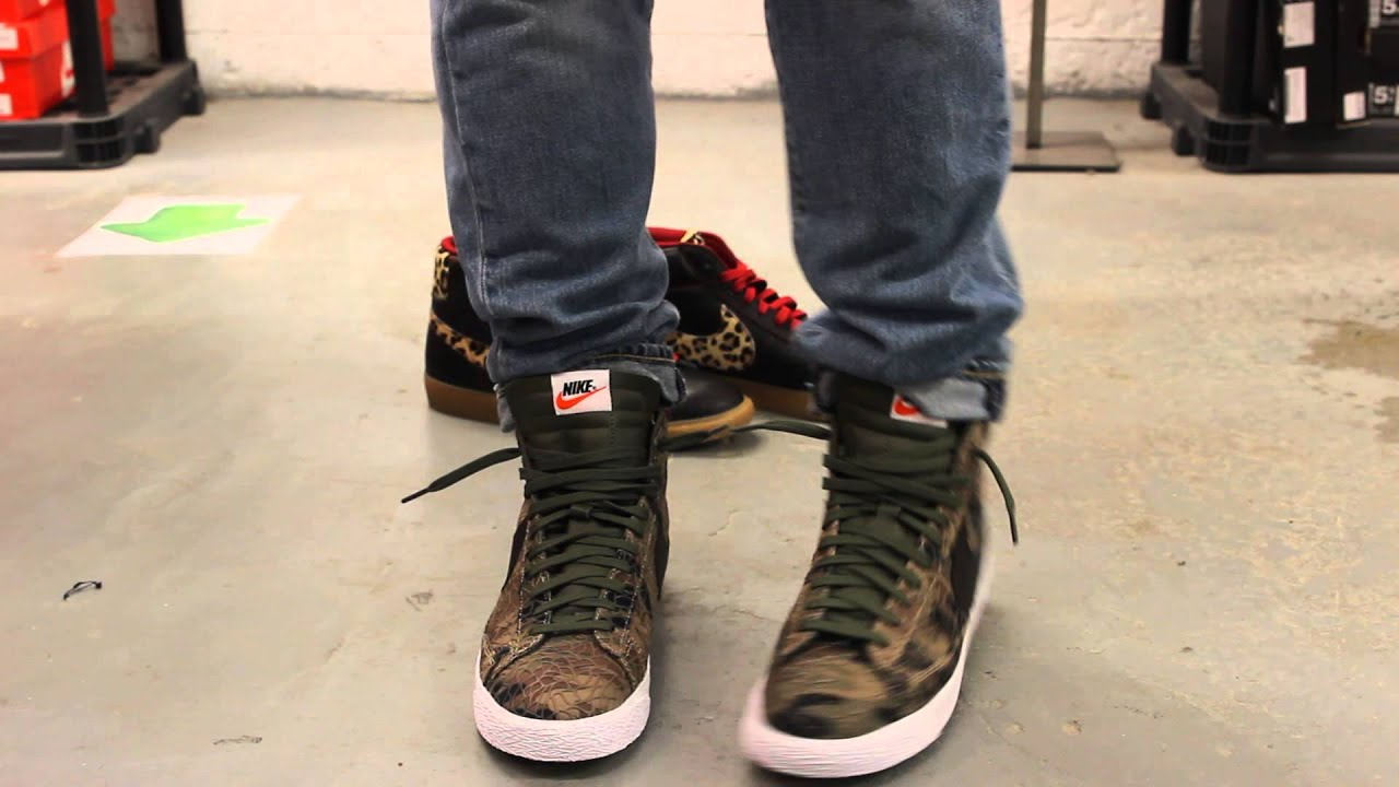 nike blazer mid premium vintage qs camo u201csafari collection u201d on rh youtube com
