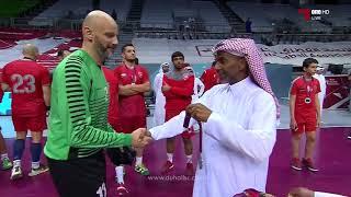 تتويج الدحيل وصيفاً لدوري كرة اليد 2018 - 2019
