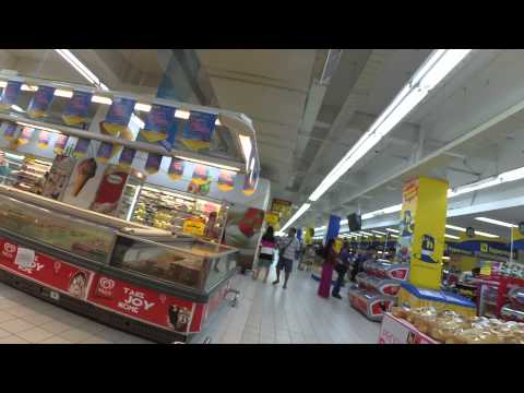 Walking Around the Grocery at Nagoya Hill Mall, Batam Indonesia