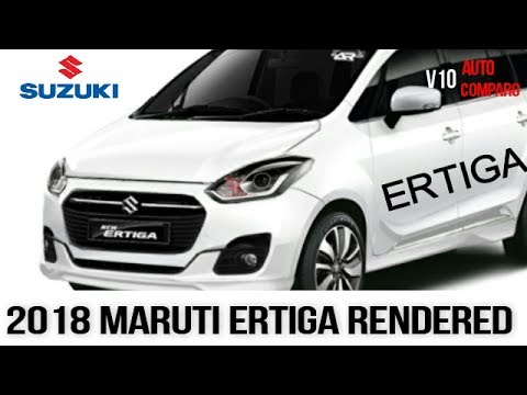 2018 suzuki ertiga. wonderful ertiga nextgen 2018 maruti ertiga codenamed yha rendered u0026 what we know so far for suzuki ertiga s