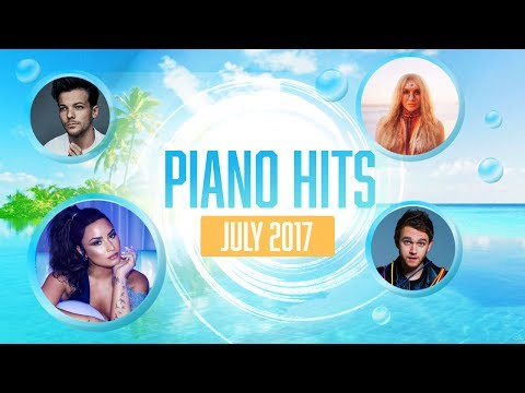 Piano Pop Songs July 2017 : Over 1 hour of Billboard chart hits- music for studying