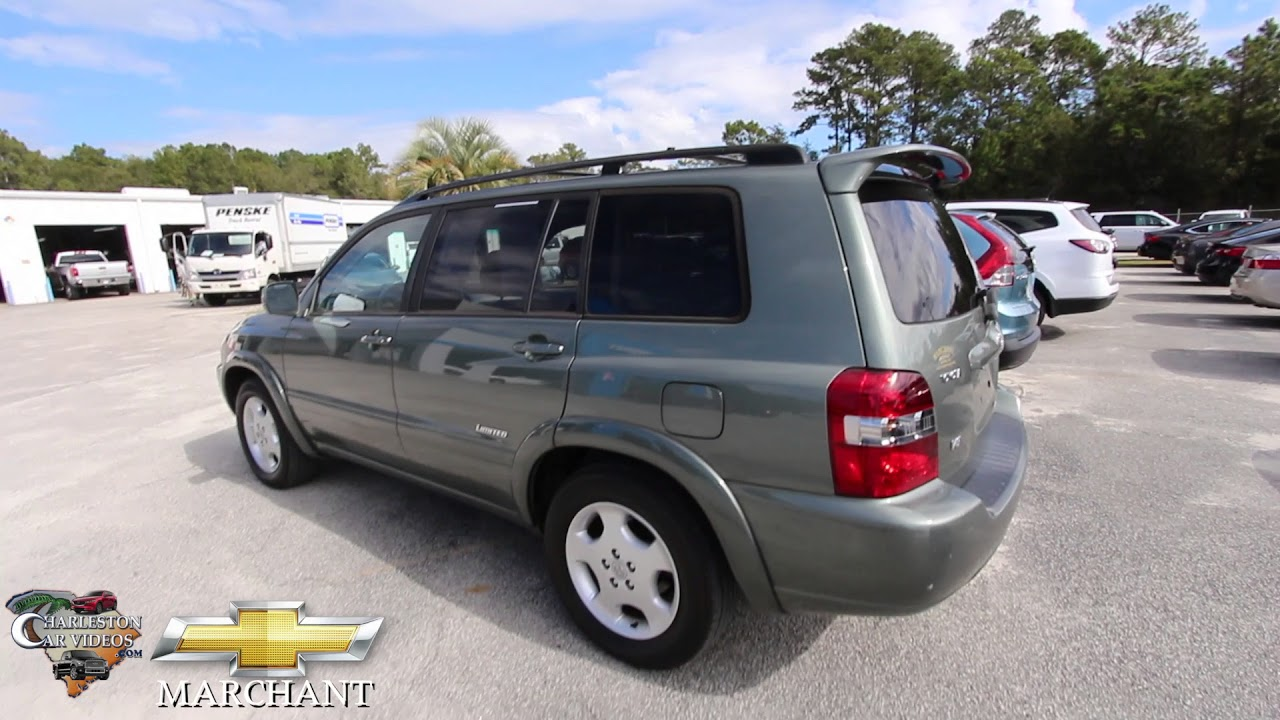 2007 Toyota Highlander Limited   10 Years Later Review   November 2017 @  Marchant Chevy