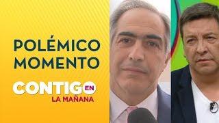 JC Rodríguez enfrentó a Senador Chahuán: