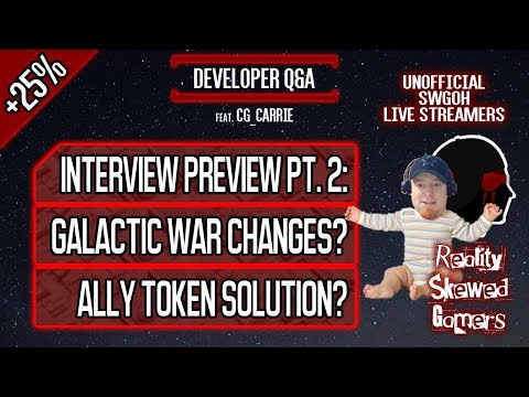 Developer Q&A feat. CG_Carrie Pt. 2 | Star Wars: Galaxy of Heroes