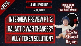 Developer Q&A feat. CG_Carrie Pt. 2 | Star Wars: Galaxy of Heroes #swgoh