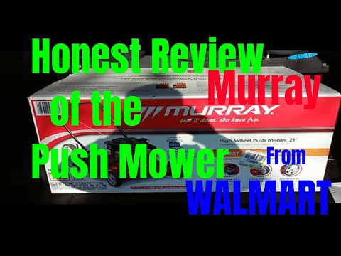 Walmart Push Mower Honest Review Murray for under $200 Is it worth it???