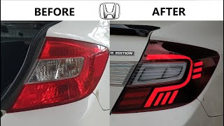 How It's Made Honda Civic FB7 Led Tail Light