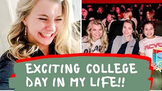 COLLEGE DAY IN MY LIFE: last day of classes, frozen 2, & running errands | university of alabama