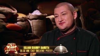 """Giani s-a întors la """"Chefi la cuțite"""" mai hotărât ca niciodată"""