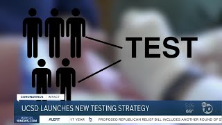 New COVID-19 testing strategy at UCSD Health