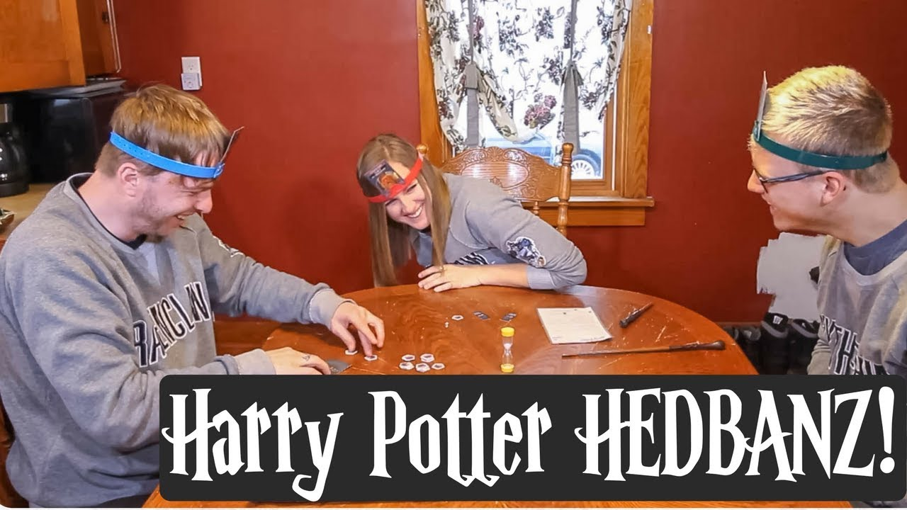 HARRY POTTER GAME ⚡️ Playing Hedbanz!