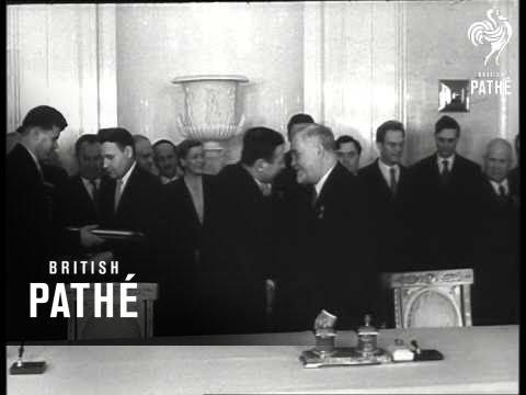 Joint Soviet - Albanian Declaration (1957)