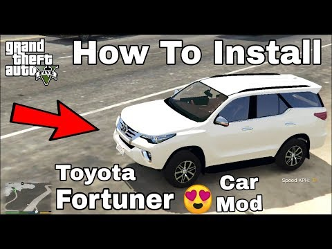 How To Download And Install Toyota Fortuner Car Mod In GTA 5