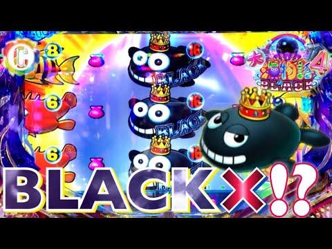 【CR大海物語4 BLACK】~BLACK×〇〇!?・ジンベイザメ・これがBLACK無双!!!~