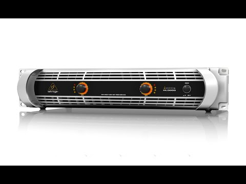 iNUKE NU3000 Ultra-Lightweight High-Density 3000-Watt Power Amplifier