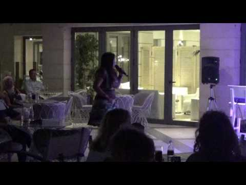 Karaoke Night at Sentido Pearl Hotels, Crete. What a voice! 13 May 2017