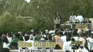 "Bone Crusher Live ""Never Scared"""