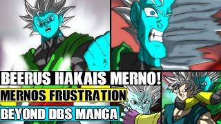 Beyond Dragon Ball Super: Beerus Hakai's Merno! Merno Unleashes Ultra Instinct Out Of Rage!