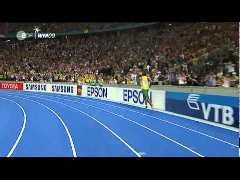 Usain Bolt 958 100m New World Record Berlin HQ