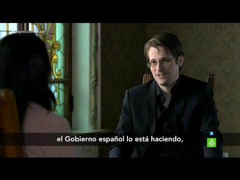 """Snowden: """"El Gobierno español también utiliza el espionaje masivo"""""""