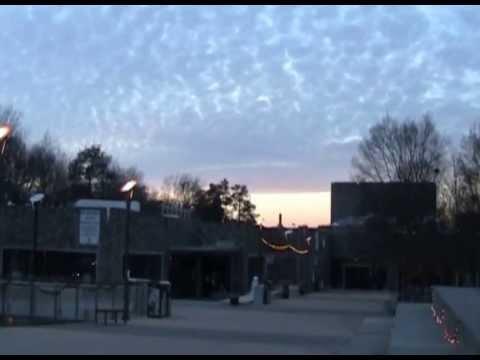 Duke University Bryan Center during Sunset