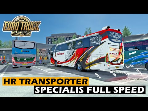 HR Transporter Adu Balap Di jalur Berkelok - ETS2 Mod Indonesia - 동영상