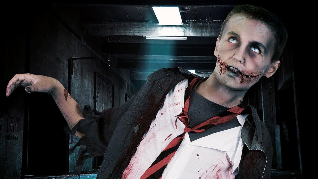 Tutorial di Halloween trucco Zombie per bambino - YouTube e90d8395cc98