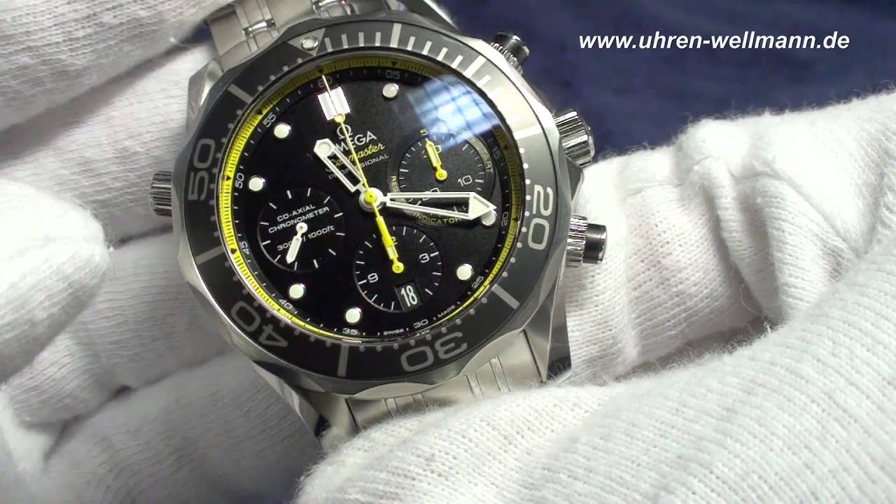 Omega seamaster planet ocean chronograph - 4 6