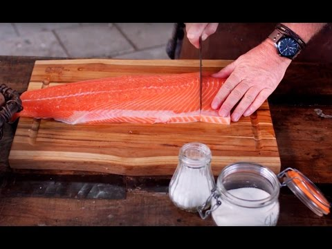 How To Smoke Salmon - Big Green Egg