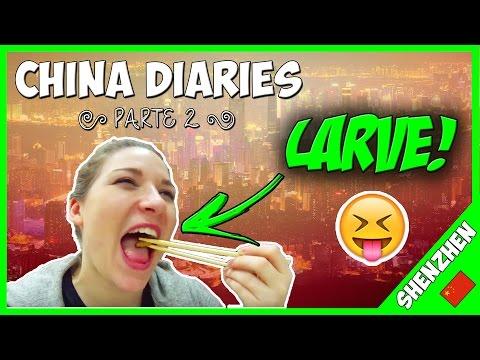 ✈️ VLOG: a Shenzhen ho mangiato LARVE! 🐛