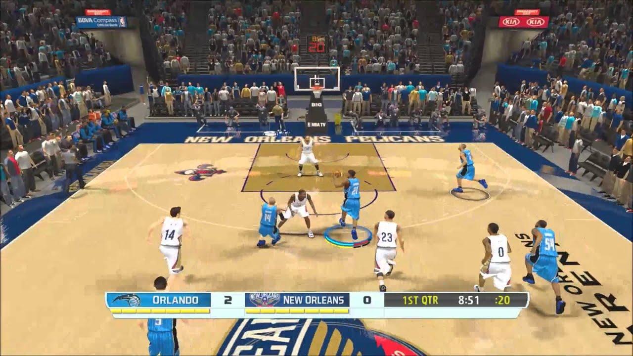 Magic vs Pelicans Fox Sports scoreboard mod for NBA 2K14 HD Gameplay + Download Link - YouTube
