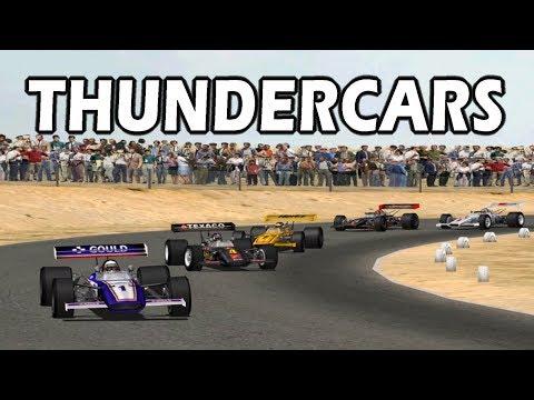 Grand Prix Legends  - Thundercars At Riverside International Raceway