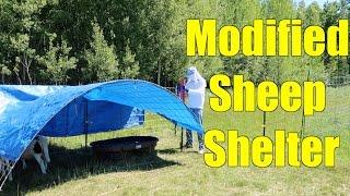 Modified Sheep Shelter