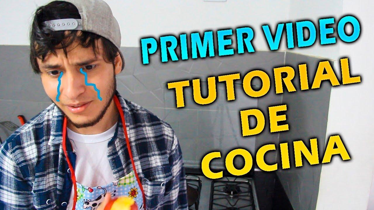 PRIMER VÍDEO CON TUTORIAL DE COCINA - Yo Ser Douglas