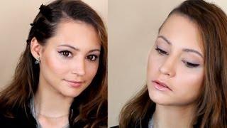 Макияж для видео-съемки (стрелки)(Прочитай меня: Это базовый макияж, который отлично выглядит на видео. Основной фокус на идеальной сияющей..., 2012-10-14T08:30:07.000Z)