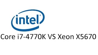 Core i7-4770 VS Xeon x5670 - Grand Theft Auto V