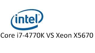 Core i7-4770 VS Xeon x5670  - Grand Theft Auto V