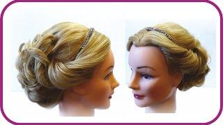 Свадебная прическа. Прическа на праздник. Прическа на длинные волосы. Wedding hairstyle(Прически на все случаи жизни http://www.youtube.com/user/LiliaLady777 Как много времени отнимает у нас поиск своего стиля,..., 2014-08-17T15:24:11.000Z)