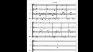 Two Moods for Mallet Quartet