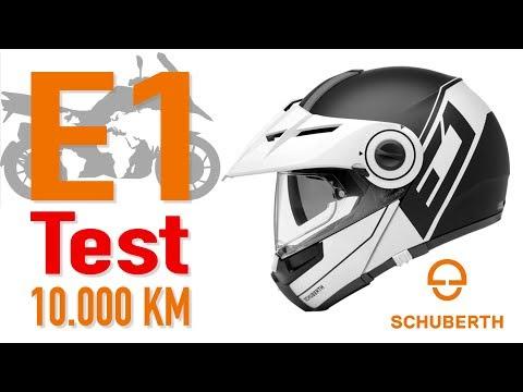SCHUBERTH E1 - 10.000 KM Test & Review - Deutsch